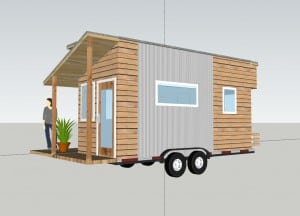 Tiny House on trialer plans