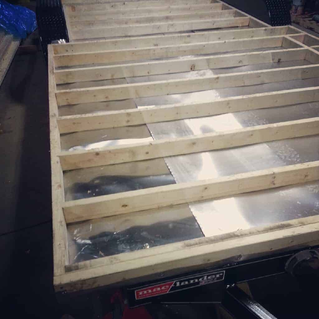 Progress Update: Subfloor Framing Done! - The Tiny Project ...