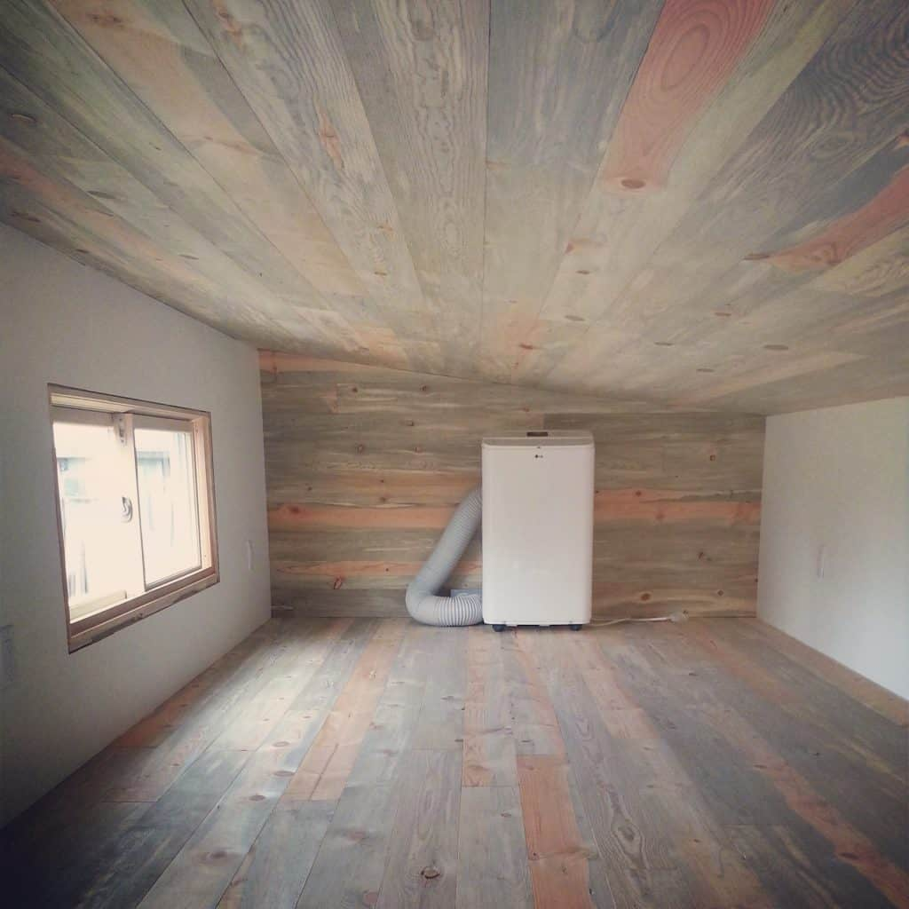 How To Prepare Wood Trim For A Smooth Wood Paint Job: Finished Plywood Ceiling, Diy Storage Bench Seat Plans
