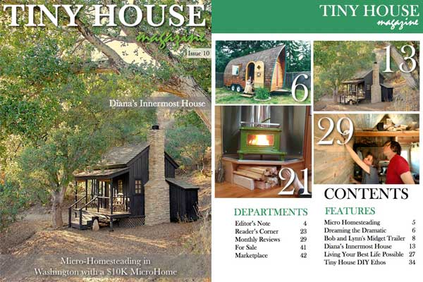 The Tiny Project In Tiny House Magazine The Tiny Project