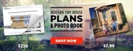 Modern Tiny House Plans & Photo Book