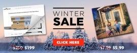 tiny house plans winter sale