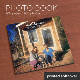 Tiny Project Photo Book Printed Softcover
