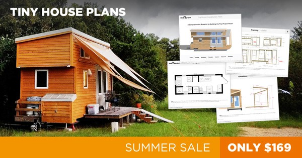 Our Biggest Public Sale Ever! Award-Winning Tiny House Plans For