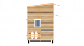 Tiny House Elevation Drawing