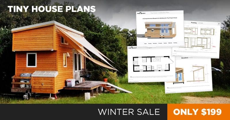 20% Off Tiny House Plans From Now Until December 31St