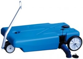 RV portable water tank blue boy