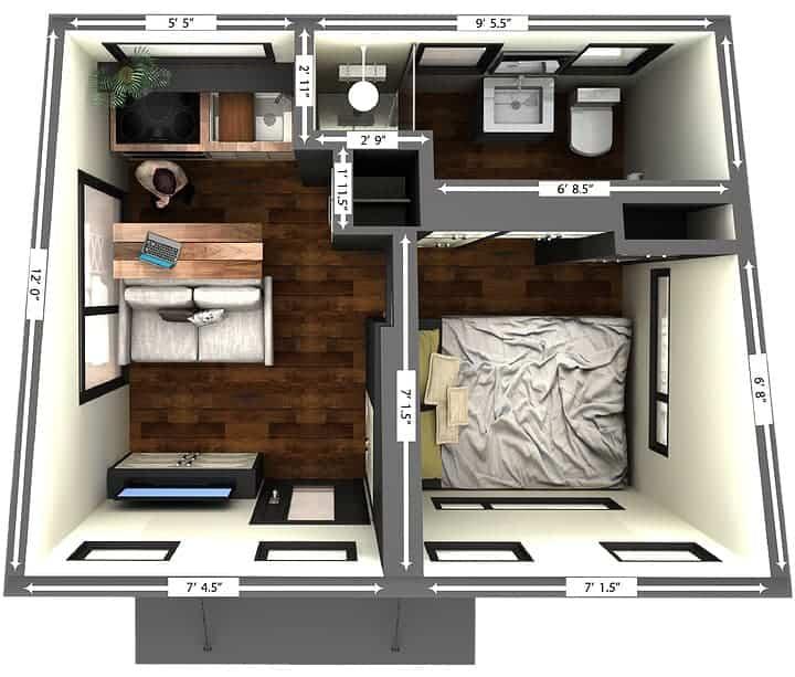 Henko Floor Plan
