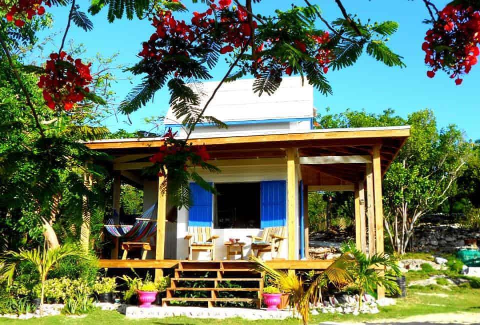 Jamaican Beach House Painting