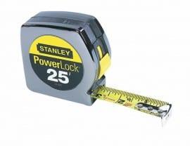 stanley powerlock 25' tape measure