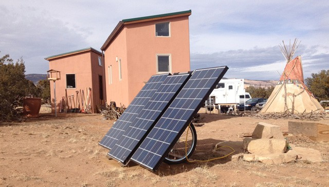 SolMan Classic running a Tiny Home in New Mexico