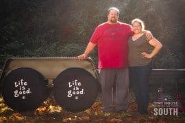 John & Amy, Tiny House of the South - website, facebook