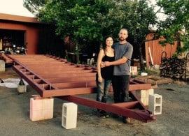 Celeste & Tim - website