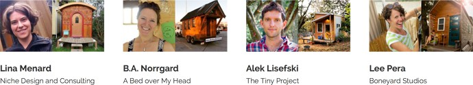 TINY HOUSE collaborative team