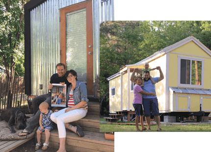 Tiny house for kids and family