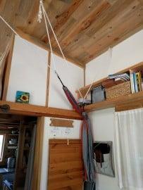 tiny house yoga swing hammock