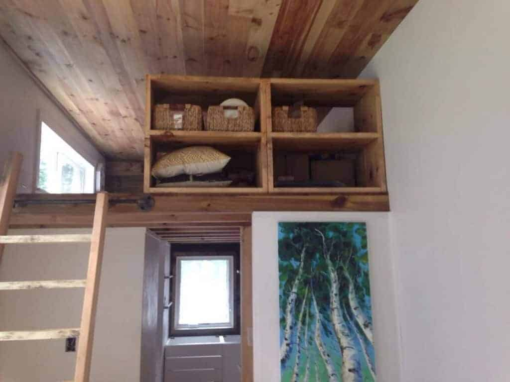 Tiny House Built from Tiny Project Plans