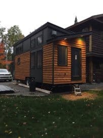 Tiny House built from Tiny Project tiny house on wheels plans