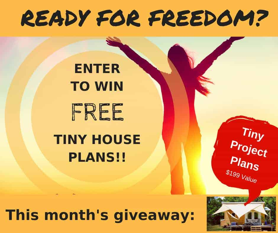 Your chance to win free Tiny Project tiny house plans